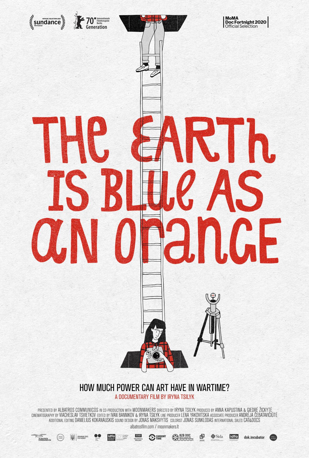 Zemlja je plava poput naranče